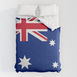 The National flag of Australia, authentic version (color & scale 1:2) Comforters