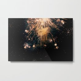 New Year's Eve Metal Print
