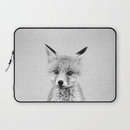 Baby Fox - Black & White Laptop Sleeve