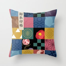 Kimetsu No Yaiba Haori Throw Pillow