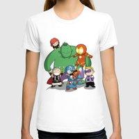 avenger T-shirts featuring The Baby Avenger-s by Tsuki-Nekota
