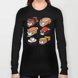 Sushi Shiba Inu Long Sleeve T-shirt