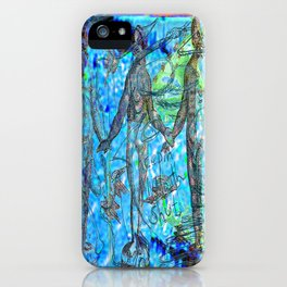 Life And (Slow) Death In Beach City (Or Keepin' My Mouth Shut) iPhone Case