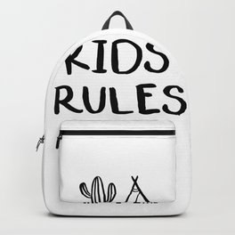 Kids rules Backpack