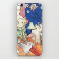 luna lovegood iPhone & iPod Skins featuring Luna Lovegood by malipi