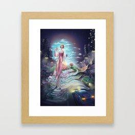 Uzume no Mikoto - By Lunart Framed Art Print