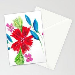 Vintage Floral Spray Stationery Cards