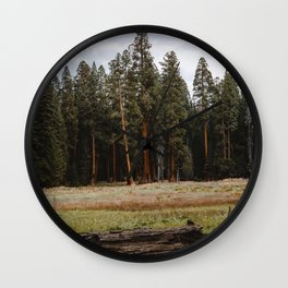 Giant Forest Love Wall Clock