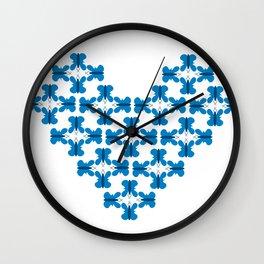 Butterfly texture Wall Clock