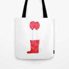 balloon boots Tote Bag