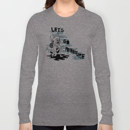 Lets Go Adventure Long Sleeve T-shirt