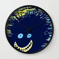 monster inc Wall Clocks featuring Monster by Take Five