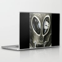 kafka Laptop & iPad Skins featuring I'm Late by Kyle McDonald