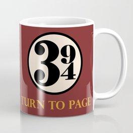 Turn to Page 394 Coffee Mug