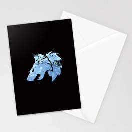 Wolves on the horizon Stationery Cards