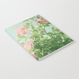 Pink Roses Notebook