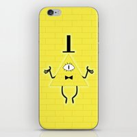 bill iPhone & iPod Skins featuring Bill by Area51