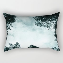 Redwood Forest Adventure - Nature Photography Rectangular Pillow