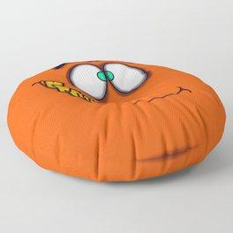 Orange Jack Floor Pillow