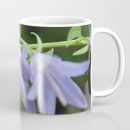 Eli the Snail and the Purple Flowers by Althéa Photo Coffee Mug