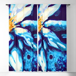 Lotus by Laura Zollar Blackout Curtain