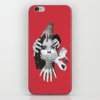 mad iPhone & iPod Skins featuring Mad by fabiotir