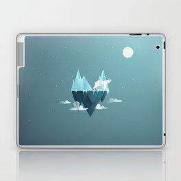 Low Poly Polar Bear Laptop & iPad Skin