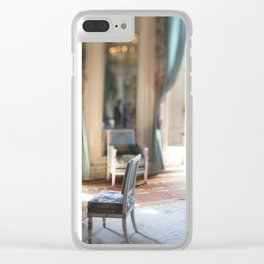 Watercolor Room Versailles Clear iPhone Case
