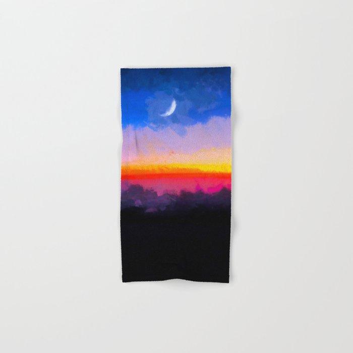 Sunrise - Leaving the Moon Hand & Bath Towel