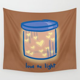 Love the Light Wall Tapestry