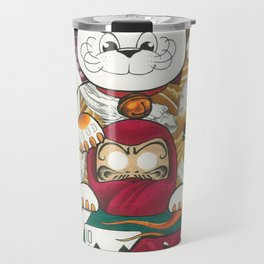 Lucky Cat Gambler Travel Mug