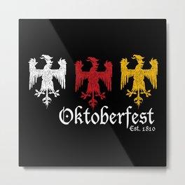 Oktoberfest Est. 1810 Metal Print
