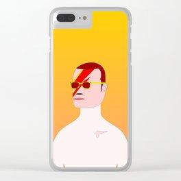 Aladdin Sane (IV) Clear iPhone Case