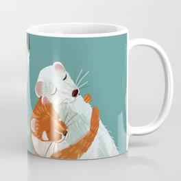 Weasel hugs Coffee Mug