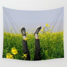 life of Happiness Wall Tapestry