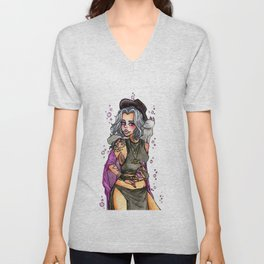 Hipster Witch Unisex V-Neck