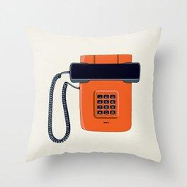 Telephone Eta80 - Iskra Throw Pillow