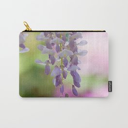 Rustic Wisteria Textured Carry-All Pouch