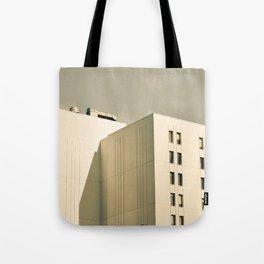 Modern Minimal Cityscape Tote Bag