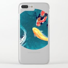 Water Ballet Clear iPhone Case