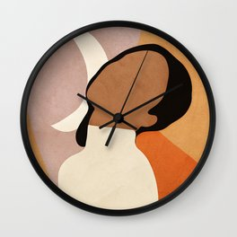 Peace and Elegance Wall Clock