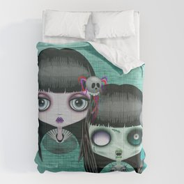 Zombie Doll The Dark Side Comforters