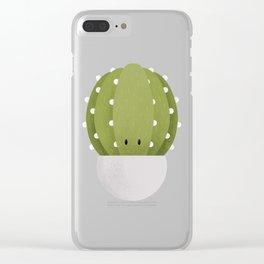 Cactus Nursery Art Clear iPhone Case