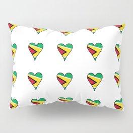 Flag of Guyana 2  -Guyanese,Guyanes,Georgetown,Linden,Waiwai Pillow Sham