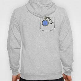 time lord pocket watch Hoody