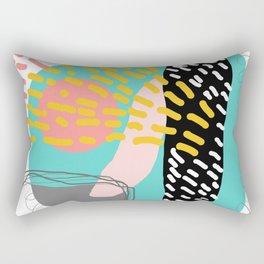 Colorful play Rectangular Pillow