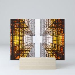 Emerging Skyscraper Mini Art Print