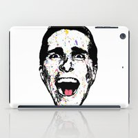 american psycho iPad Cases featuring American Psycho by CultureCloth