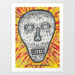 I have become death Art Print