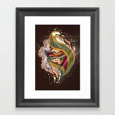 Triangular dream Framed Art Print